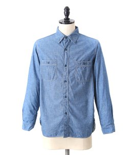 Chambray shirts blue