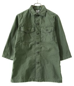 US ARMY 3/4 SLEEVE SHIRT -GREEN USED-