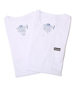 FRUIT OF THE LOOM BLUEBLUE VN 2PACK POCKET T NO.2