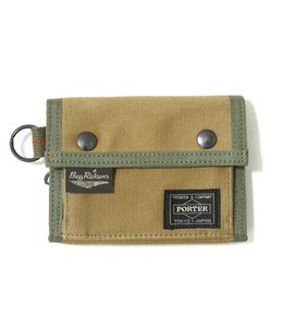 BUZZ RICKSON'S × PORTER JUNGLE CLOTH WALLET