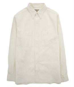 WHITE CHAMBRAY WORK SHIRT
