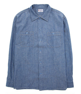 BLUE CHAMBRAY L/S WORK SHIRT