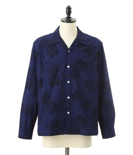 "L/S COTTON OPEN SHIRT ""DUKE'S PINEAPPLE"""