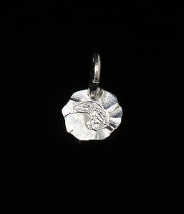 EAGLE FACE MEDAL SILVER (XS)