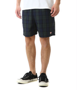 NYLON TAFFETA CHECK SHORT PANTS