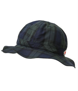 NYLON TAFFETA CHECK HAT