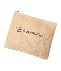 Paper Clutch Bag -Brooklyn-
