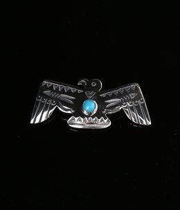 Open Wing Thunderbird Pin