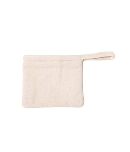 POUCH COTTON JUTE TWILL