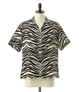 """ZEBRA"" S/S OPEN SHIRT"