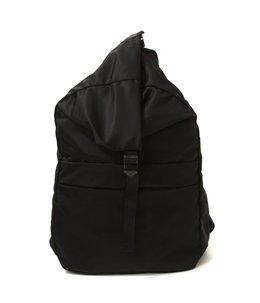 spring backpack No.1 -nylon twill black-