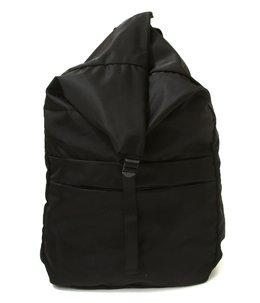 spring backpack No.2 -nylon twill black-