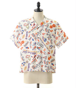 "S/S RAYON HAWAIIAN SHIRT ""SWEET LEILANI"""