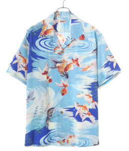 "HAWAIIAN SHIRT ""GOLD FISH"""