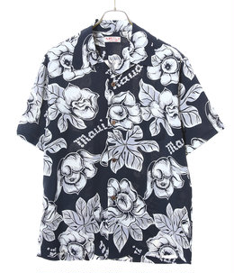 "HAWAIIAN SHIRT ""PATTERN OF TROPICAL PLANTS"""