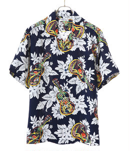 "HAWAIIAN SHIRT ""UKULELE MELODY"""