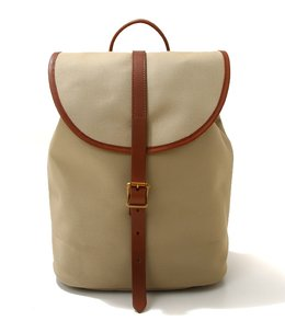 別注BRITISH RUCK SACK -COTTON TWILL×LEATHER-