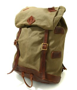 別注CANVAS×LEATHER OLD BACKPACK for ARK STANDARD