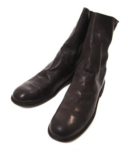 988 Horse Full Grain Backzip Boot