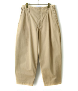 Hem tuck pants