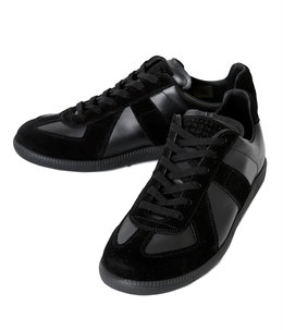 LEATHER SNEAKER -sole in tone-