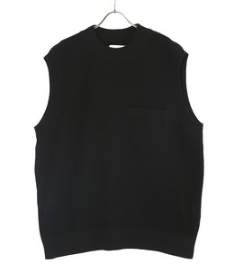 Oversize Pullover Knit Vest