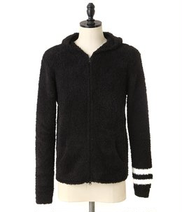 男性サイズ Men`s Zip Hoodie with stripe
