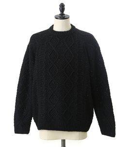 alpaca knit pullover