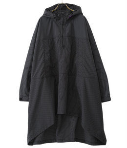 Color Ripstop Mountain Wind Poncho