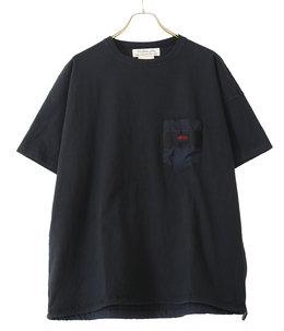16/-天竺ブリーフィング半袖T