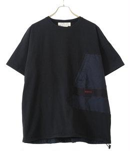 16/-天竺ブリーフィング半袖T B