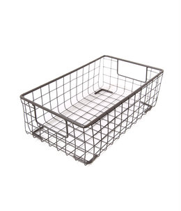 WIRE BASKET SHOES BOX Small