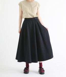 【レディース】TCツイルタック入りロングスカート
