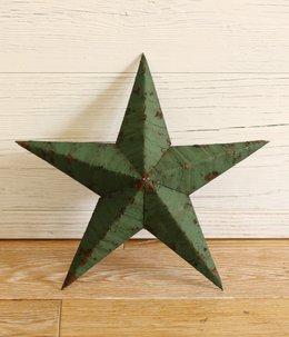 Handmade Tin stars 14inch