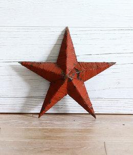 Handmade Tin stars 12inch
