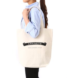 CANVAS USA GROCERY TOTE BAG-M