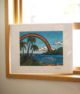Art Print 11×14 「Anuenue」
