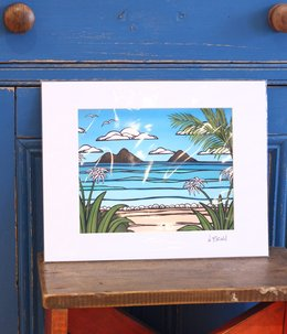 Art Print 11×14 「Kailua Weekend」
