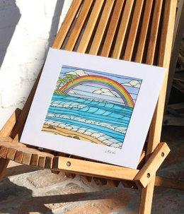 Art Print 11×14 「Daydream Rainbow」