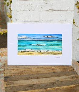 Art Print 11×17 「Daydream Sea」