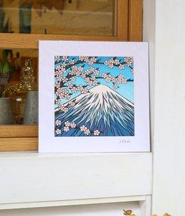 Art Print 12×12 「Mt.Fuji」