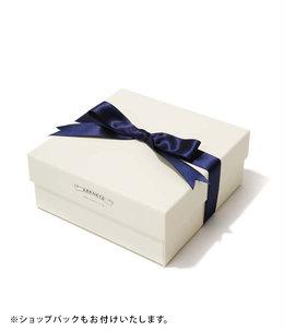 【ウォレット、ベルトをはじめとした小物類に最適】ギフトボックス(M)-ホワイト-(W17cm×H4.5cm×D17cm)