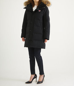【レディース】<P/C TUSSAH (タッサー)>-LONG DOWN JACKET