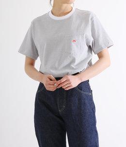 【レディース】CREW NECK POCKET T-SHIRT (14/-空紡天竺)