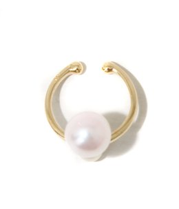 Double Pearl Ear Cuff(イヤーカフ)