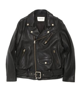 【レディース】vintage leather riders jacket