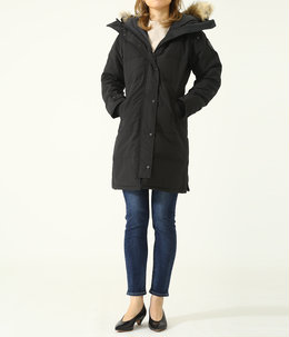 【レディース】<SHELBURNE PARKA(シェルバーン パーカー)>-BLACK LABEL/BLACK DISC-