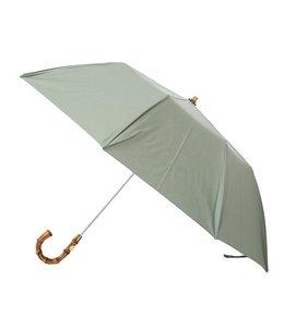 【レディース】FOLDING BAMBOO GLD-SEA SPRAY- / 折りたたみ傘