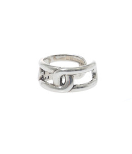 【レディース】Maillon ring(brass silver color)