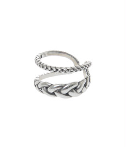 【レディース】Edrea ring(brass silver color)